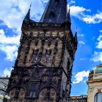 The Powder Tower (Gate) in Prague