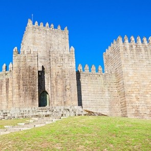 Castle of Guimaraes, a day trip from Porto