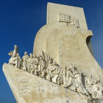 The monument of the discoverers