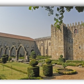 The historic Archiepiscopal Palace of Braga