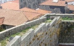The medieval walls of Porto